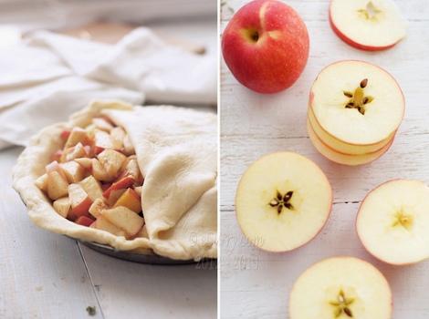 Пироги с яблоками и корицей